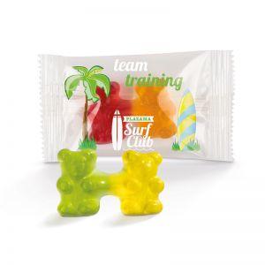 Team Gummibärchen mit Logodruck