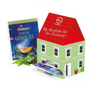 Tee-Haus Mini mit Werbedruck