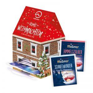 Tee-Haus Mini Weihnachtstee mit Werbedruck