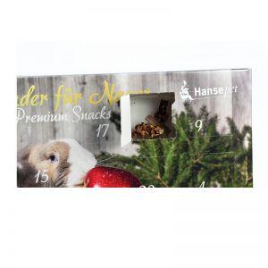 Tier-Adventskalender mit Logodruck und Wunschbefüllung