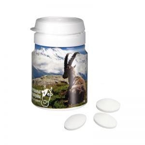 Top Can Pfefferminzpastillen zuckerfrei mit Werbedruck