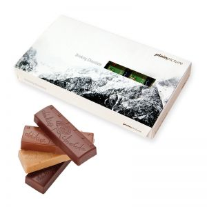 Trinkschokolade von zotter mit Logodruck
