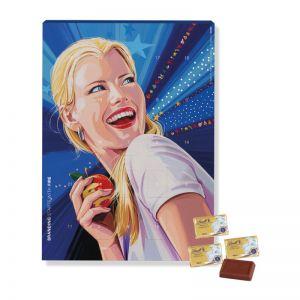 Wandadventskalender Select Edition mit Werbedruck