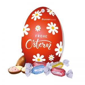 Werbe-Osterei Lindt Joghurt Eier mit Werbebedruckung