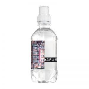Werbe Quellwasser 330 ml Sportverschluss