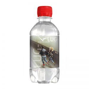Werbe Quellwasser still 330 ml Drehverschluss
