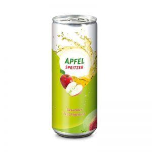 Werbedose Apfel Spritzer