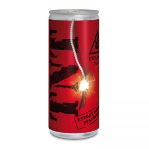 Werbedose Energy Getränk