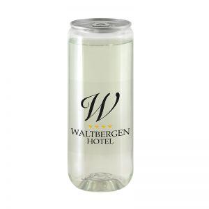 Werbedose Vitaminwasser Multifrucht mit Logodruck