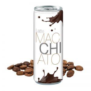 Werbegetränk Latte Macchiato mit Logodruck