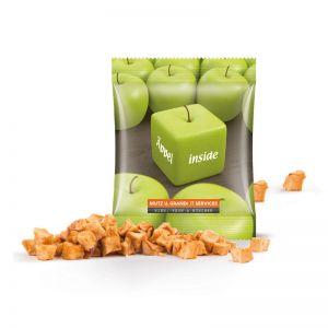 Werbetüte Apfel Cubes Minitüte mit Logodruck