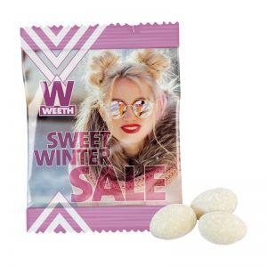 Weseke Vanille-Mandeln im Werbetütchen mit Logodruck