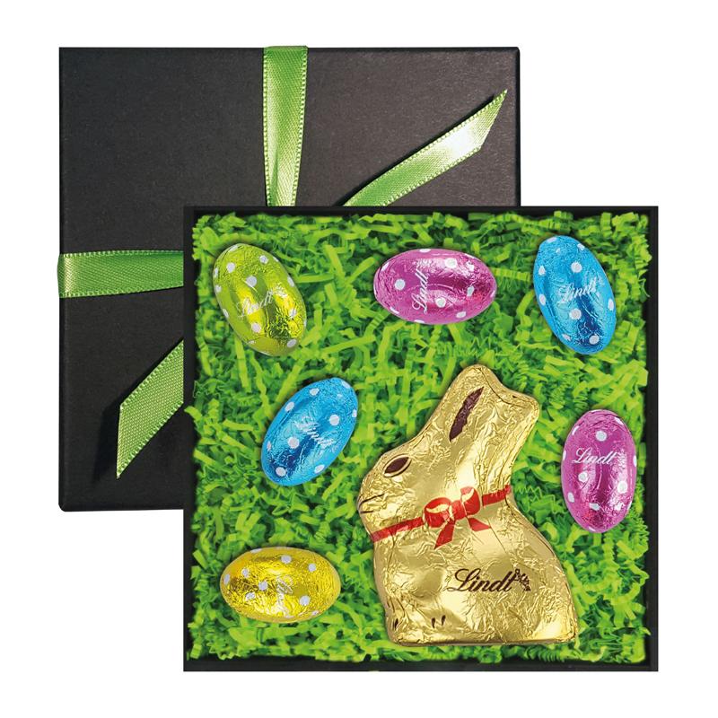 lindt goldhase mini mix geschenkbox schokolade sortiment. Black Bedroom Furniture Sets. Home Design Ideas
