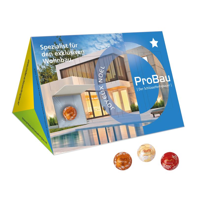 lindt lindor prisma adventskalender business mit. Black Bedroom Furniture Sets. Home Design Ideas