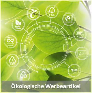 Nachhaltige und Ökologische Werbemittel aus Süßwaren. Ökologische Süßwaren mit Logo bedrucken und werben
